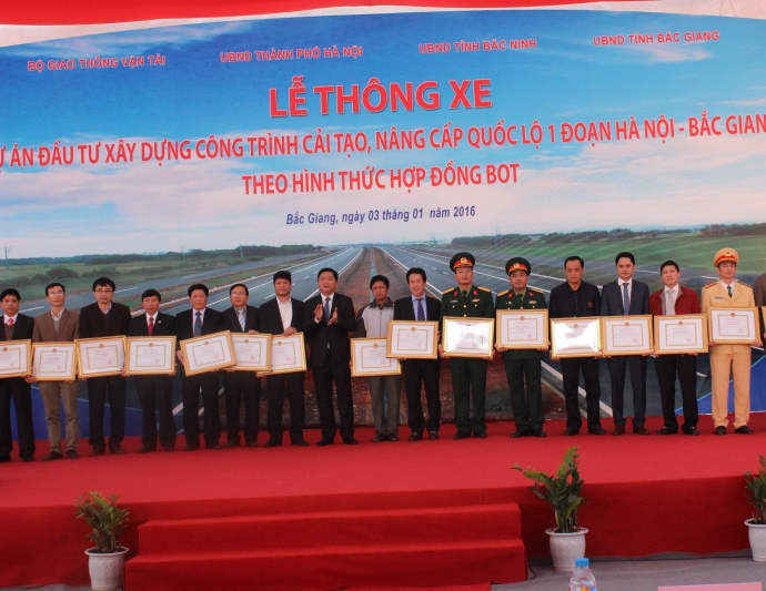 Ho lan ton luon song - Bac Giang